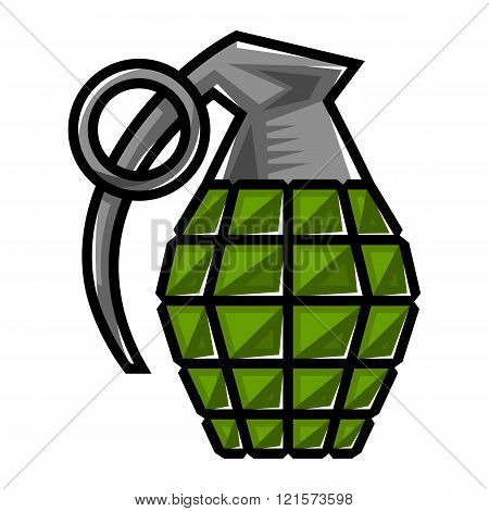 Grenade vector icon