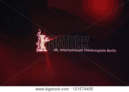 A general view of atmosphere on  during the 66th Berlinale Film Festival Berlin at Berlinale Palace on February 15, 2016 in Berlin, Germany.