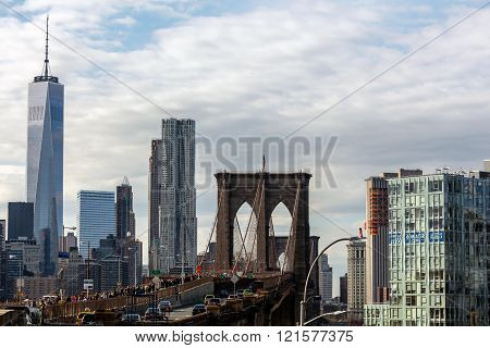 Brooklyn Bridge & Freedom Tower