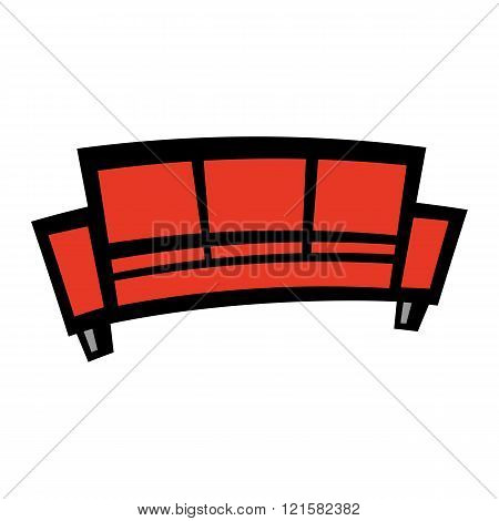 Couch vector icon