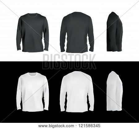 Long sleeve t-shirt set