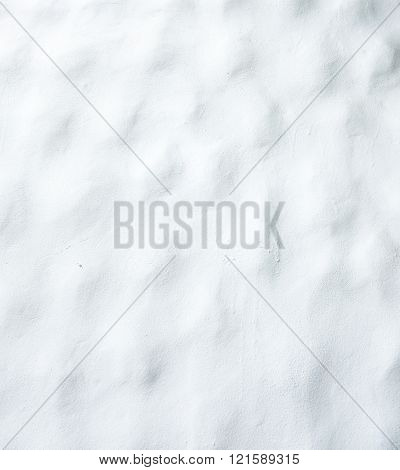 White plaster cement wall ,texture background