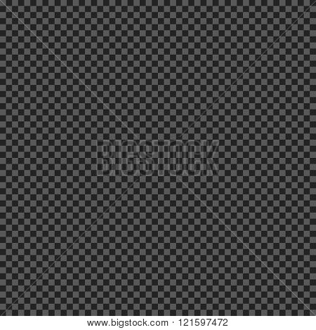 Grid transparency effect. Seamless pattern with transparent mesh. Dark grey