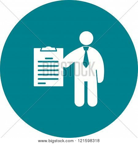 Exam, work, college icon vector image. Can also be used for humans. Suitable for use on web apps, mobile apps and print media.