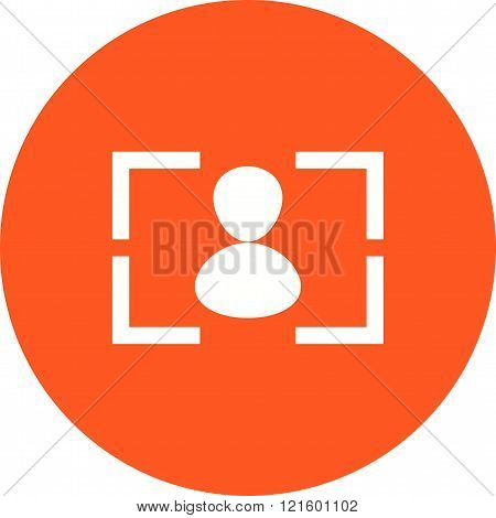Camera, focus, screen icon vector image. Can also be used for photography. Suitable for use on web apps, mobile apps and print media.