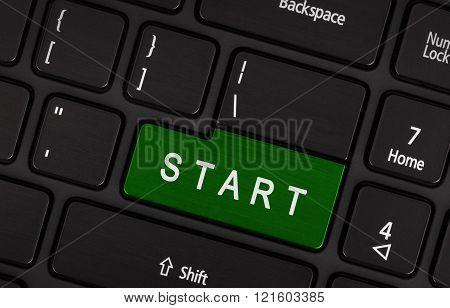 Laptop Button - Start