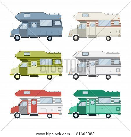 Camping Caravan Traveler Truck Collection
