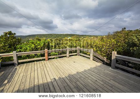 Coast of Kenting National Park in Taiwan