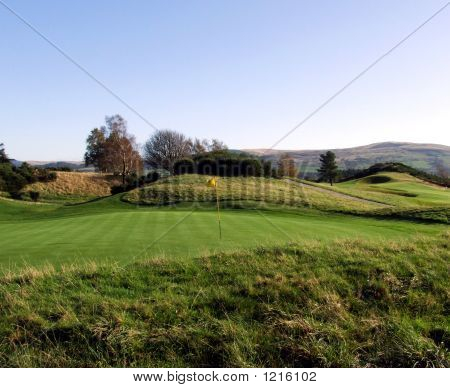 Scotland Golf Green