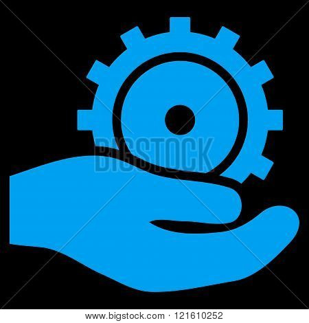 Development Service Flat Vector Symbol