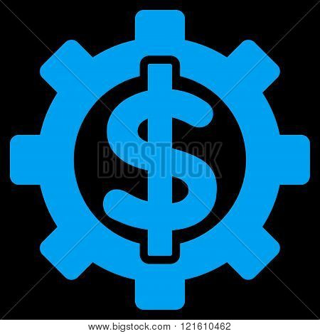 Financial Options Flat Vector Symbol