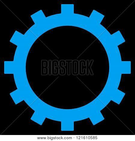Gear Flat Vector Symbol