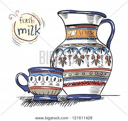 jug and mug