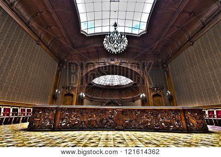 House Of Scientists - A Former National Casino . Lviv, Ukraine.