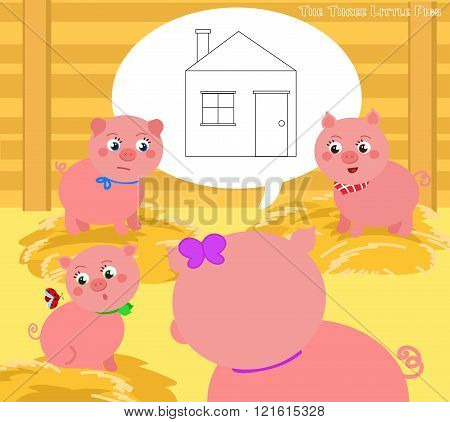 The three little pigs 2. A new house