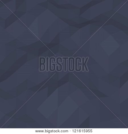 Black abstract triangular background