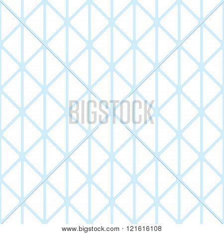 Triangles with rounded corners seamless pattern