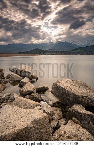 Lac De Codole In Balagne Region Of Corsica