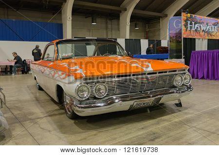 Chevrolet Impala on display