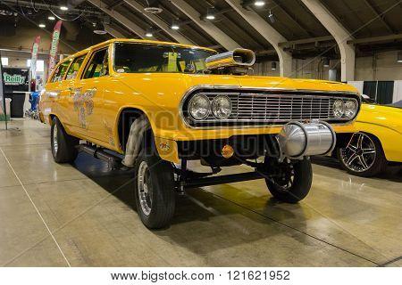 Chevy Chevelle Gasser Wagon
