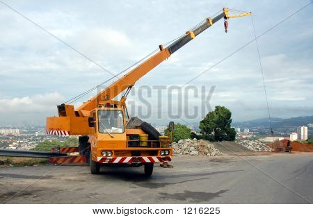Mobile Crane In Operation2
