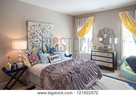 Decorated Girls Bedroom