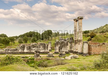 The Temple Of Artemis, Sardes Ancient City