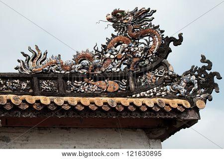 Hue Citadel, Culture Heritage, Detail, Vietnam