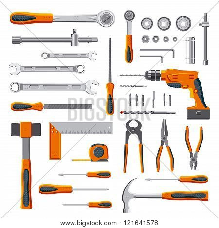 Modern Mechnic Tools Set