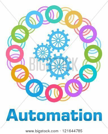 Automation Colorful Rings Circular