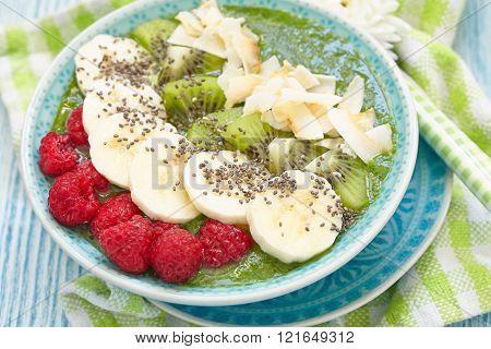 Potato salad with sour cream sauce