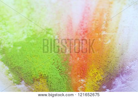 Indian Holi festival colours