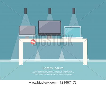 Sale of Technology Design Flat Store