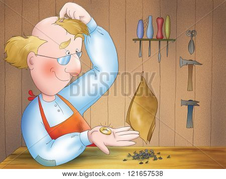 Poor shoemaker