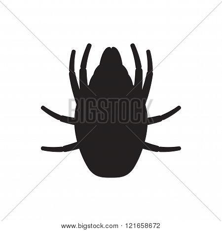 Icon dust mite.