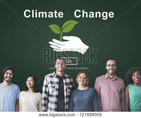 Climate Change Environmental Global Warming Concept