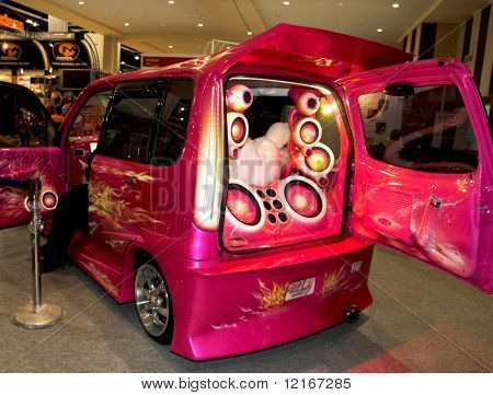 pink rocker-mobile