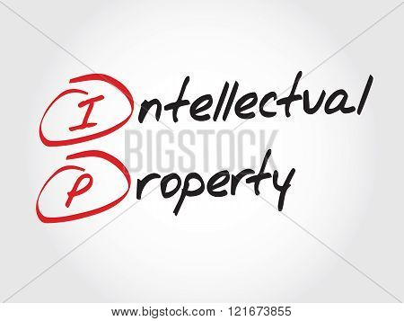 Ip - Intellectual Property, Acronym