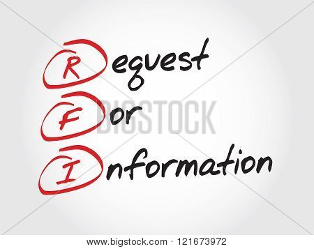 Rfi Request For Information