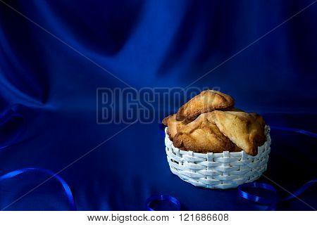 Jewish Holiday Of Purim, Hamantaschen Cookies