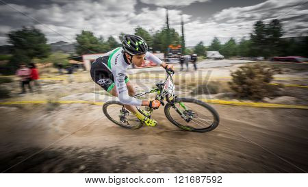 Participating in Chelva MTB XCO open