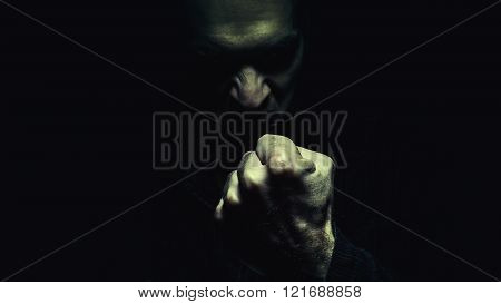 Evil Man With the Fist