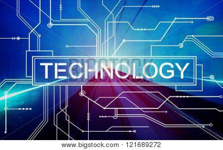 Technology Innovation Evolution Solution Digital Concept