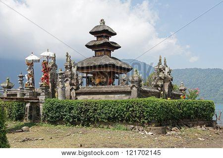 BALI, INDONESIA - DECEMBER 02, 2015: Pura Ulun Danu Bratan, one of the sights of Bali on December 02, 2015 in Bali, Indonesia