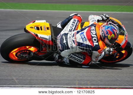 Nicky Hayden, USA on Repsol Honda MotoGP 2008