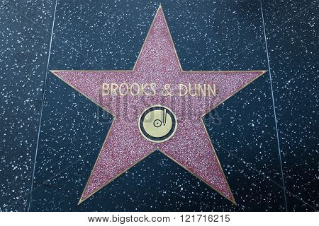 Brooks And Dunn Hollywood Star