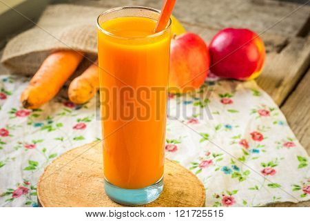 Fresh-squeezed Carrot Juice