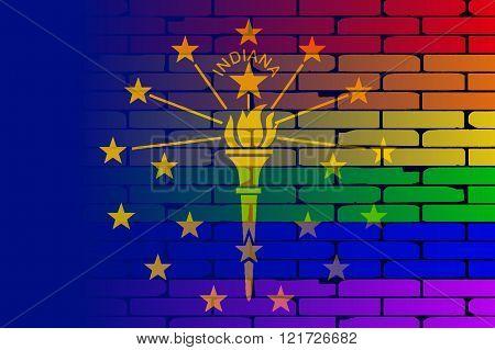 Rainbow Wall Indiana