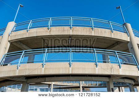 multi-storey footbridge