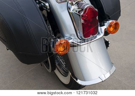 Motorcycle Rear Brake And Tail Lights